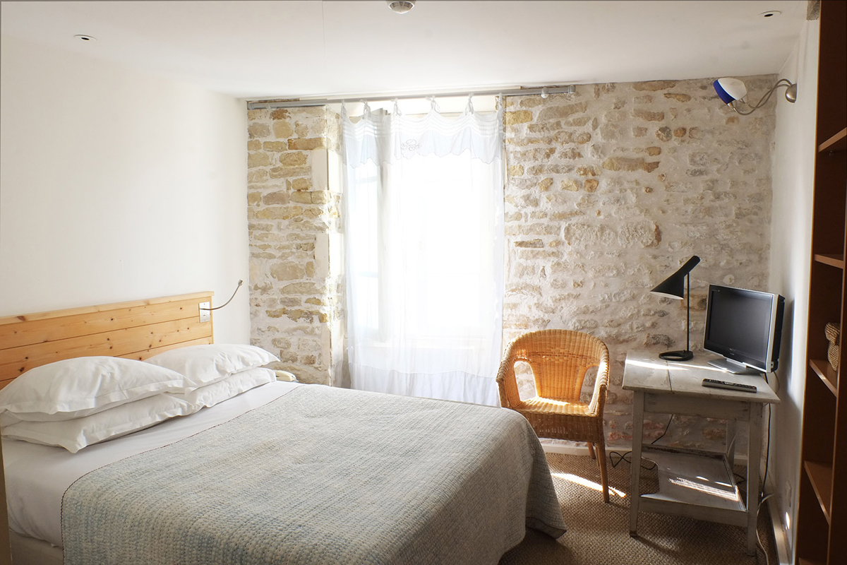 Classic room with double bed - Hotel Le Senechal