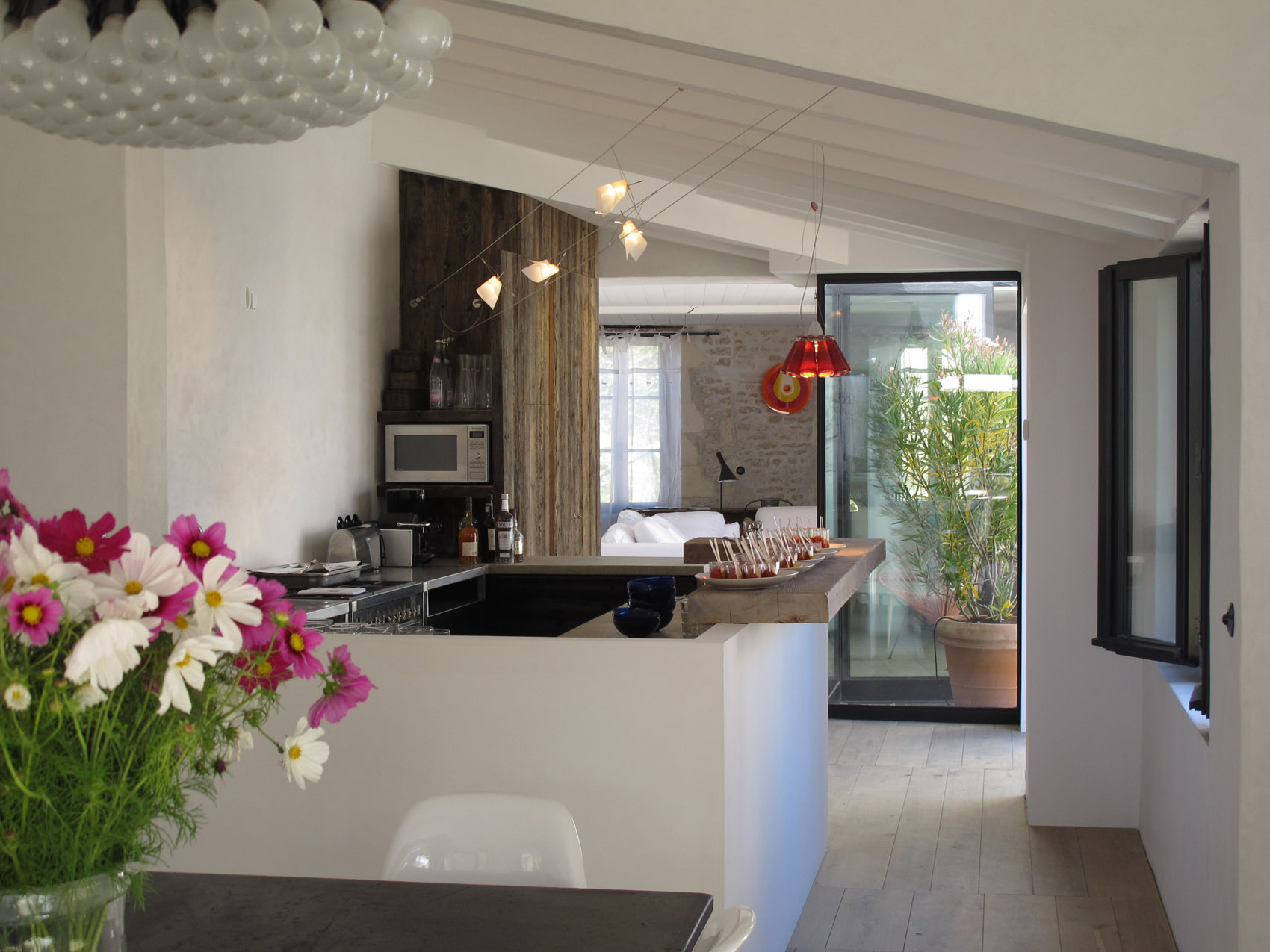 Luxury Villa Kitchen in Charente Maritime