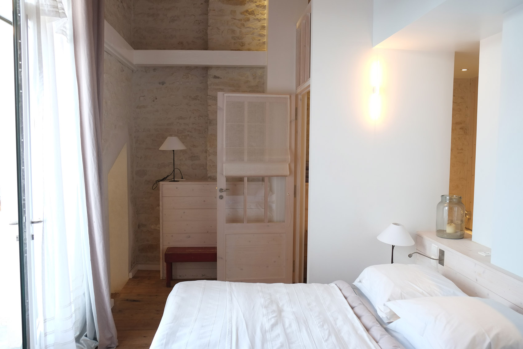 Room 2 people in Charente Maritime - Hotel Le Senechal