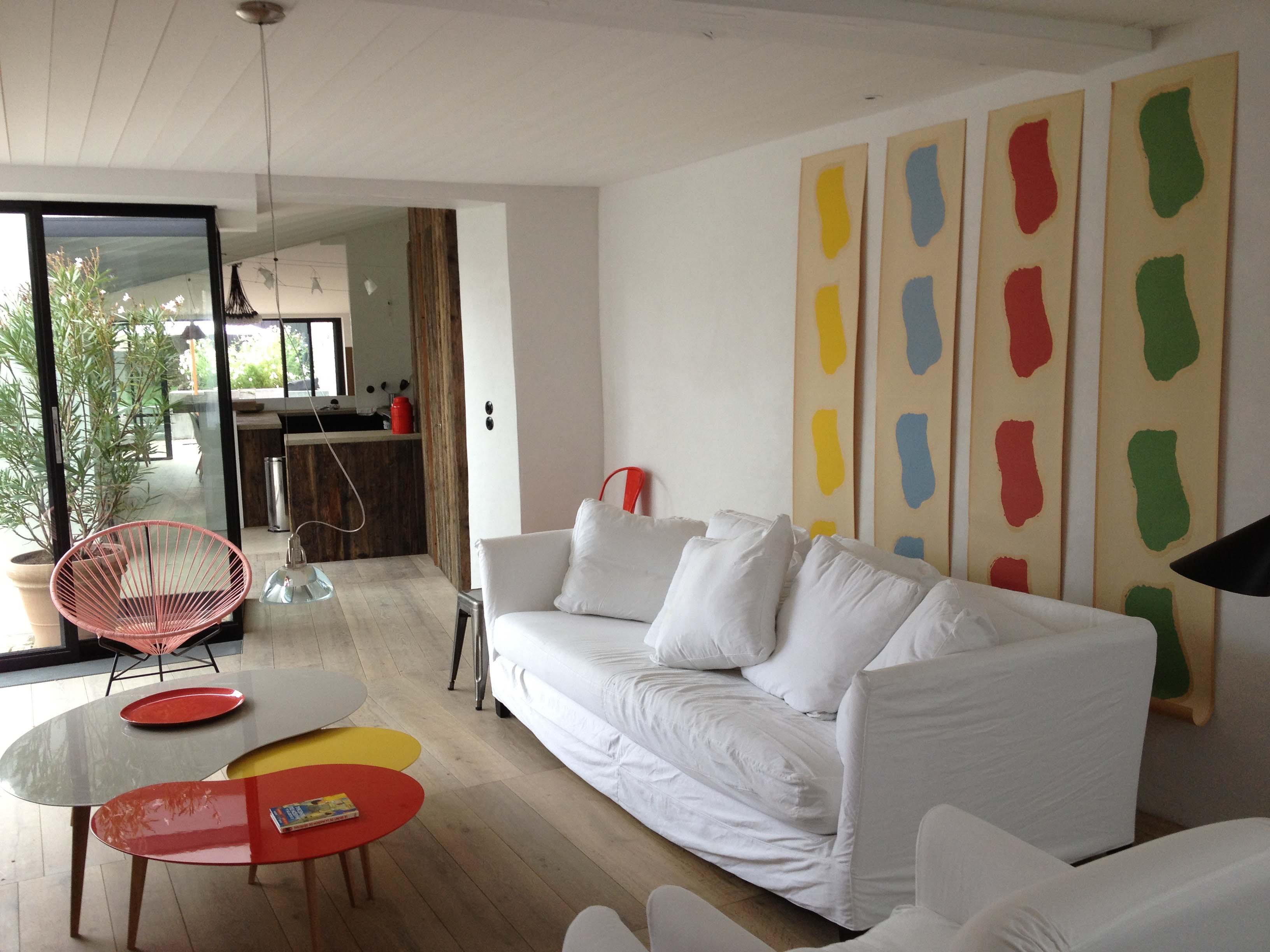 large house for renting ars en re